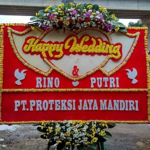 Happy wedding oleh rino dan putri dari PT. Proteksi Jaya Mandiri