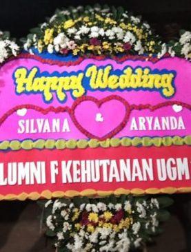 Wedding Flowers alumni fakultas kehutanan UGM