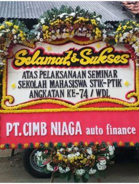 Bunga ucapan selamat sukses dari PT CIMB Niaga auto finance