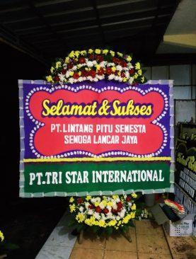 Bunga Papan Selamat Sukses Untuk PT Lintang Pitu Semesta
