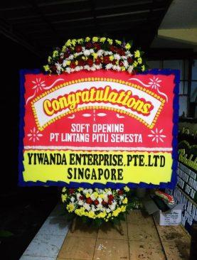 Karangan Bunga Congratulations PT Lintang Pitu Semesta